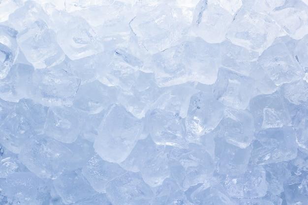 Tło zbliżenie kostki lodu