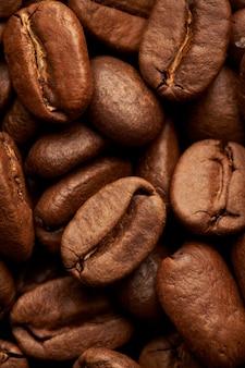 Tło ziarna kawy