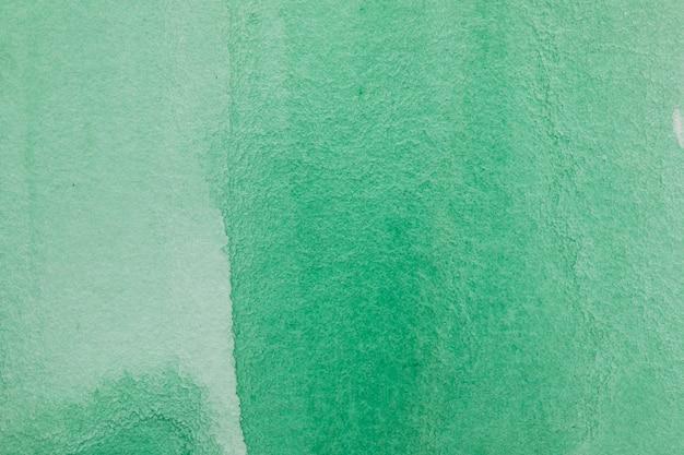 Tło zielony atrament streszczenie akwarela
