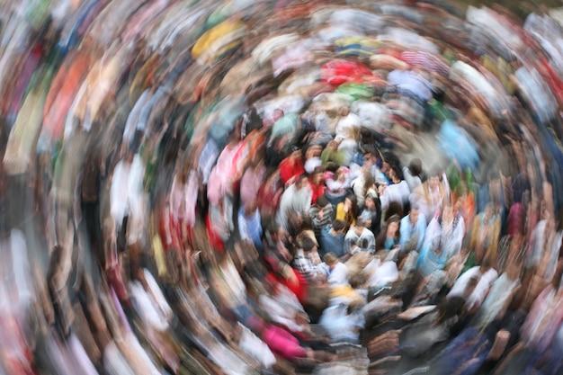 Tłum w ruchu