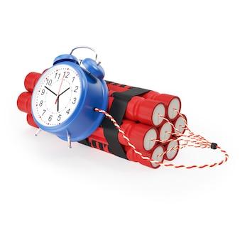 Tnt, dynamitowa bomba zegarowa