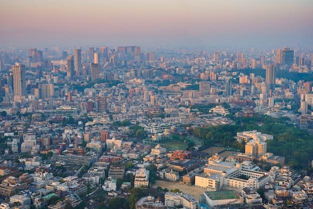 Tokio wczesnym rankiem (dla minamiazabu, shinagawa)