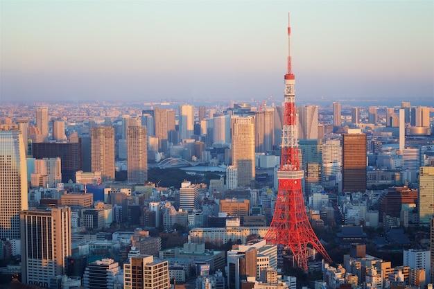 Tokyo tower w japonii