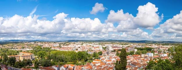 Tomar panorama portugalia