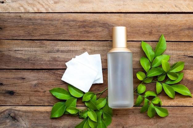 Tonery serum bawełna pielęgnacja zdrowia dla skóry twarzy