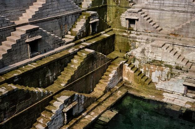 Toorji ka jhalra bavdi stepwell. jodhpur, radżastan, indie