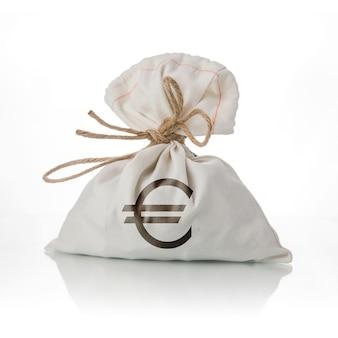 Torba na pieniądze euro