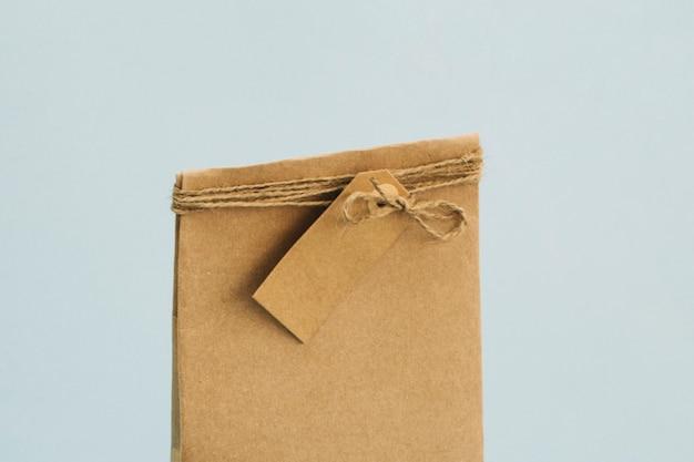 Torba papierowa z metką
