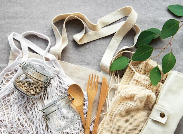 Torba z siatki i torby bawełniane