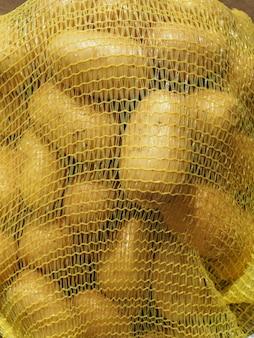 Torba z siatki ziemniaczanej