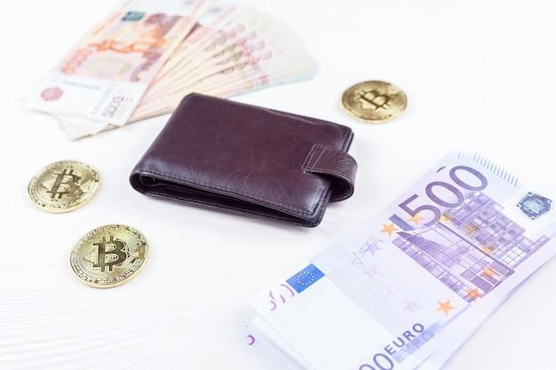 Torebka z pieniędzmi