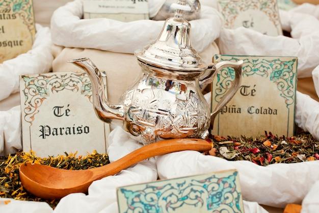 Torebki na herbatę i herbatę
