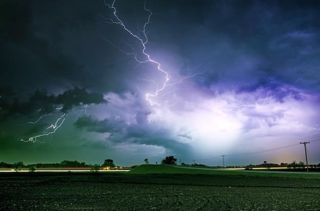 Tornado alley ciężka burza