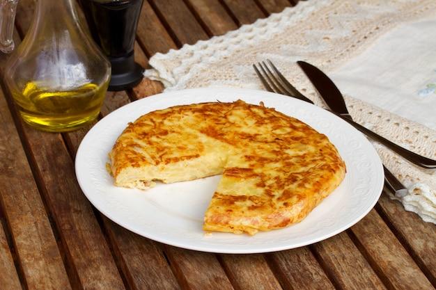 Tortilla - hiszpański omlet