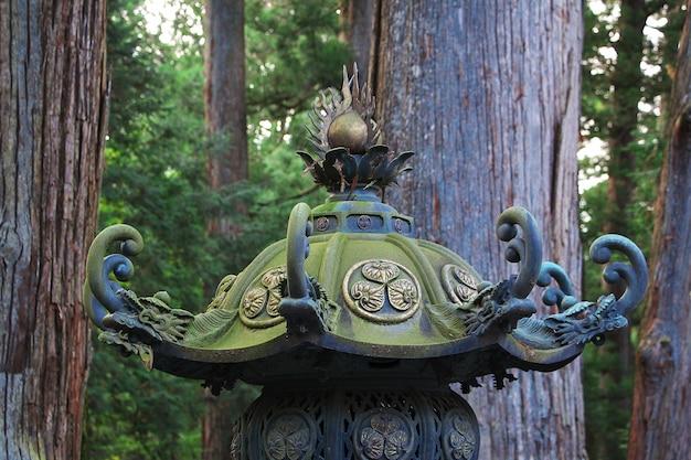 Tosho gu świątynia przy jesienią, nikko, japonia