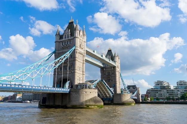 Tower bridge, londyn, wielka brytania