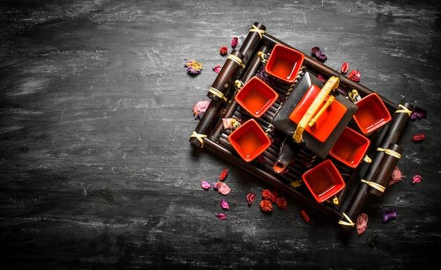 Tradycyjna chińska herbata z ziołami