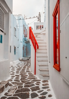 Tradycyjna grecka ulica
