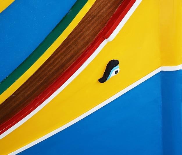 Tradycyjna łódź maltańska luzzu