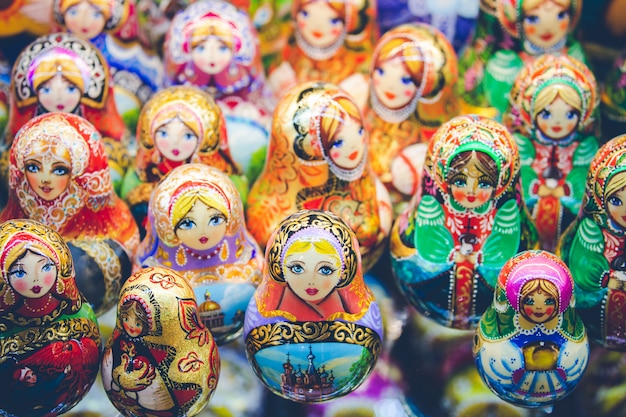 Tradycyjna rosyjska pamiątka
