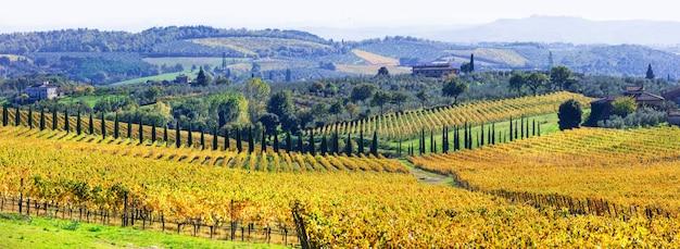 Tradycyjna sceneria toskanii.