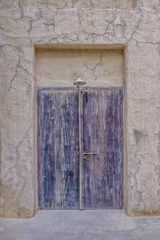 Tradycyjne arabskie drzwi do domu