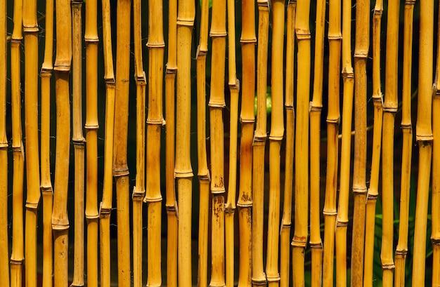 Tradycyjne bambusowe rzemiosło do przegród i tła pokoju