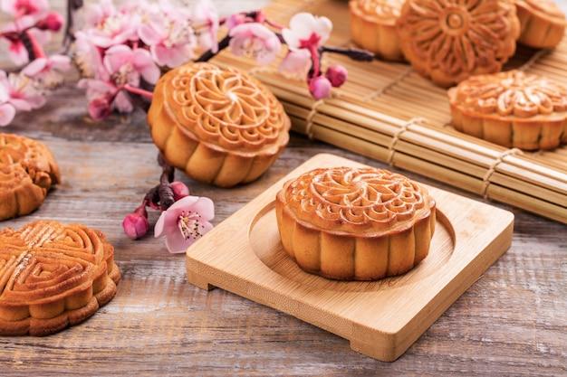 Tradycyjne chińskie ciastka księżycowe