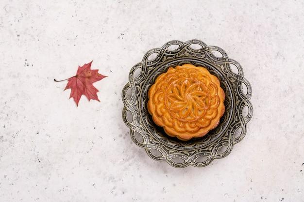 Tradycyjne chińskie ciasto księżycowe