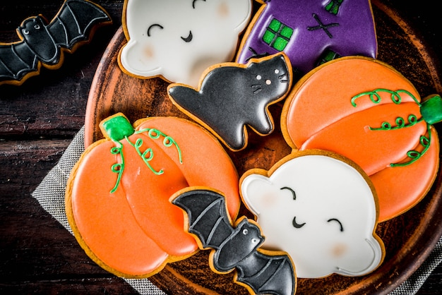 Tradycyjne ciasteczka na halloween