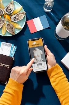 Tradycyjne francuskie jedzenie w światowy dzień turystyki?