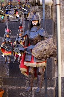 Tradycyjne sycylijskie lalki