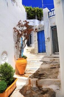 Tradycyjne ulice cyklad