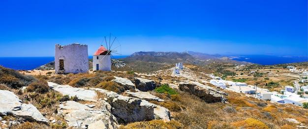 Tradycyjne wyspy grecji.