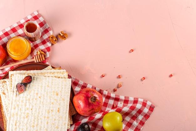 Tradycyjne żydowskie macy koszerne na wielkanocne pesah