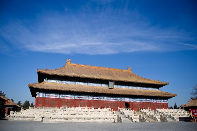 Tradycyjny chiński budynku