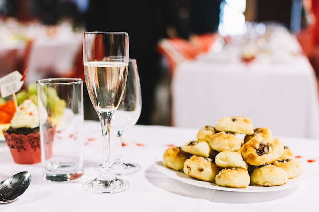 Tradycyjny czeski ciasto na przyjęcie weselne