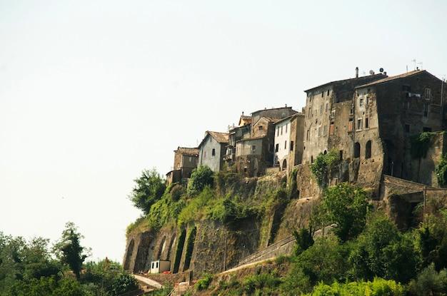 Tradycyjny dom w toskanii we włoszech