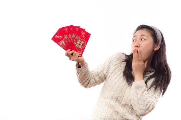 Tradycyjny dorosłych koperty piękne powodzenia