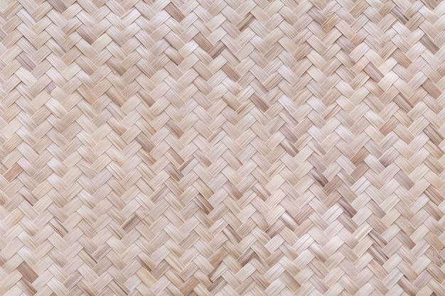 Tradycyjny ręcznie wykonany splot bambusowy
