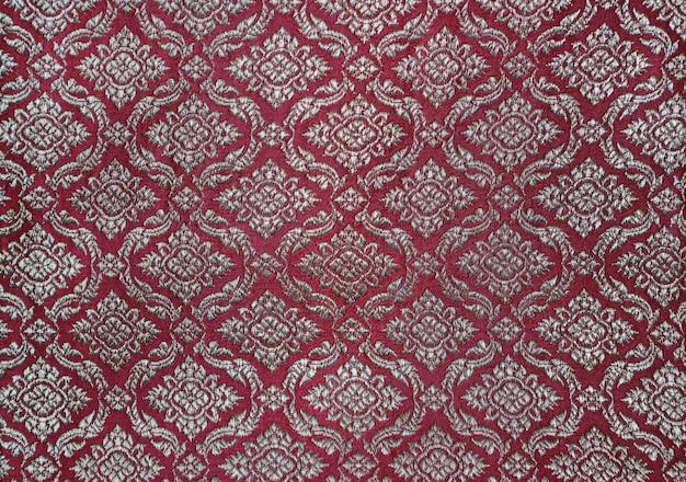 Tradycyjny tajski wzór tkaniny.