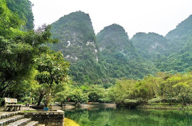 Trang malowniczy kompleks krajobrazowy. w wietnamie