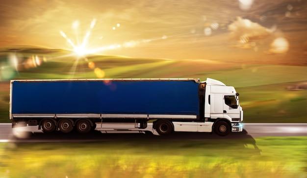 Transport Ciężarowy Premium Zdjęcia