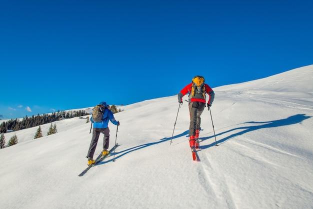 Trasy narciarskie randonnee