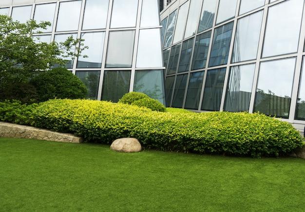 Trawnik centrum finansowego, qingdao, chiny