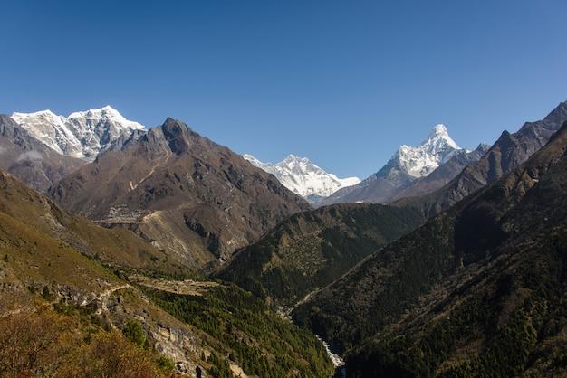 Trekking w nepalu w himalajach