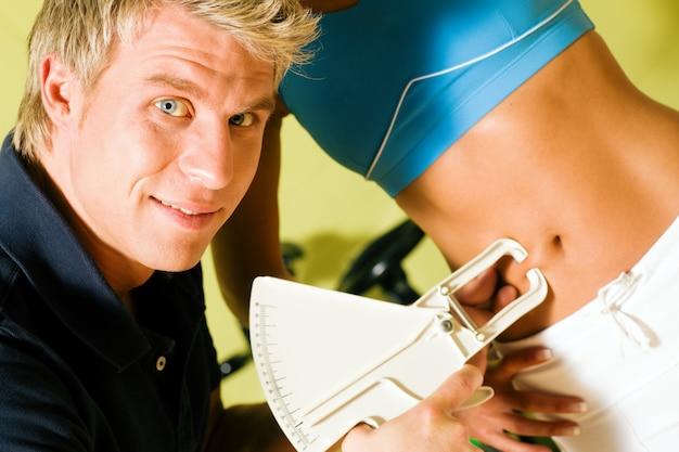 Trener do pomiaru tkanki tłuszczowej