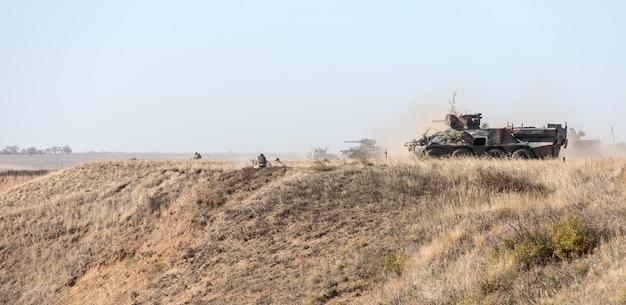 Trening bojowy sił zbrojnych ukrainy