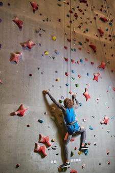 Trening na ścianie