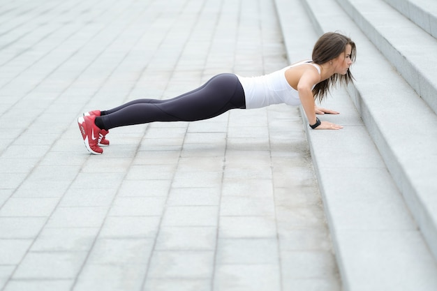 Trening na ulicy